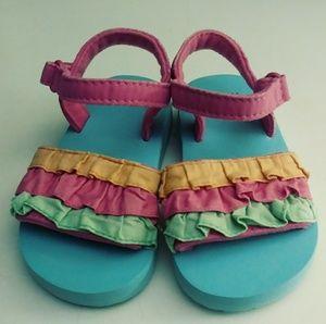 Gymboree 2 Baby Girl Sandals